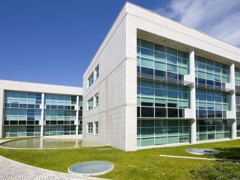 Cityscape Office Buildings